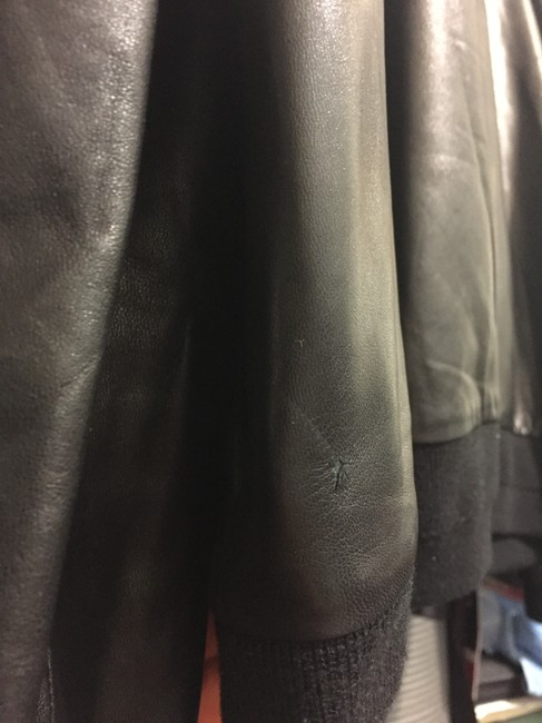 Givenchy Lambskin Bomber Saint Laurent Gucci Leather Jacket Image 9