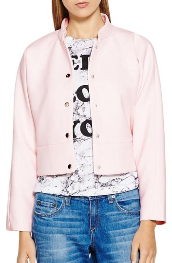 4cd244b581ff Finders Keepers Space And Time Scuba Bomber Pink Jacket - 28% Off Retail  durable modeling