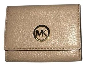 Michael Kors Michael kors Fulton 4 Ring Key-Chain Case Wallet Dark Khaki NWT