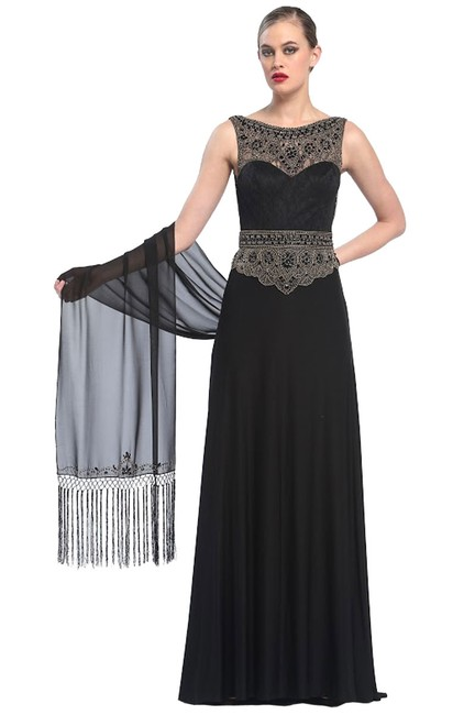 Sue Wong Embellished Gown Dress Image 1
