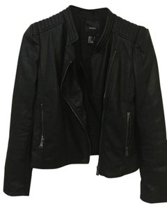 Forever 21 Faux Leather Zipper Leather Jacket