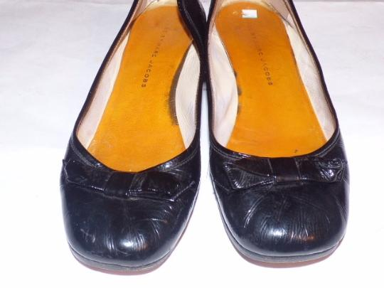 Marc by Marc Jacobs Dressy Or Casual Retro Look Bow Accents At Toes Rounded Toe Square 2