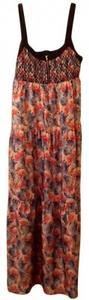 Floral print Maxi Dress by I 'Heart' Ronson Heart (maxi)