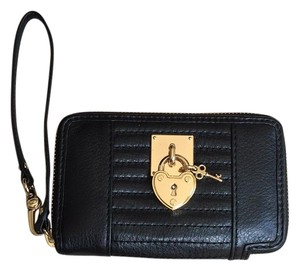 Juicy Couture Wallet Iphone Wristlet in Black
