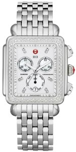 Michele NWT MICHELE DECO XL DIAMONDS, Diamond Dials watch MW06Z01A1046