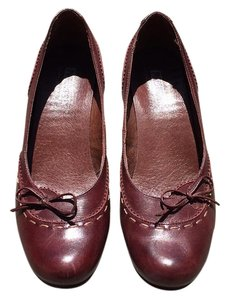 PIKOLINOS Burgundy Pumps