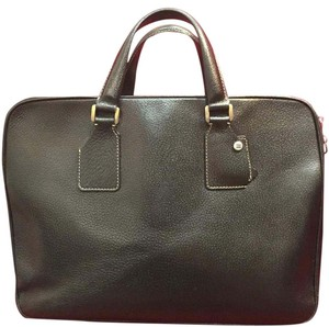 Loyd Maish Leather Briefcase Laptop Bag