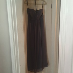 Bill Levkoff Gunmetal Grey Dress