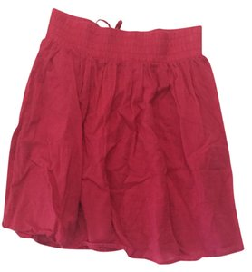London Jean Hot Pockets Summer Skirt Pink