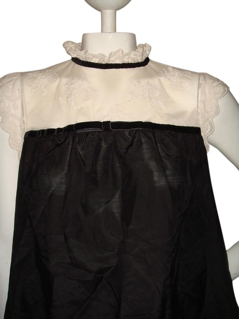 Forever 21 Top cream and black Image 0