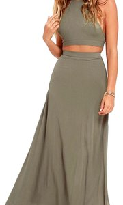Olive Green Maxi Dress by Lulu*s