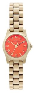 Marc by Marc Jacobs Marc by Marc Jacobs Gold Orange Skinny Watch