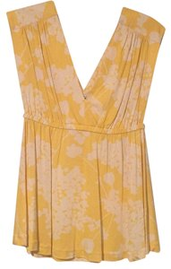 Tibi Top Yellow
