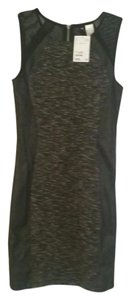 H&M Bodycon Leather Dress