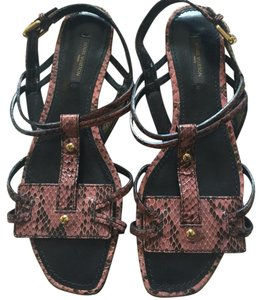 Louis Vuitton Black & pale pinkish Sandals