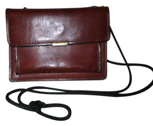 Vintage leather wallet on a string
