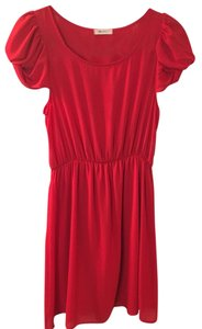 Everly short dress Red on Tradesy