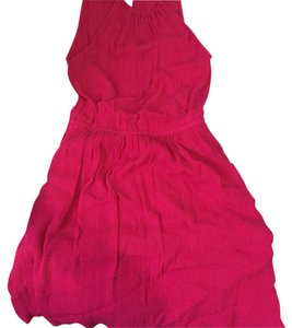 Forever 21 short dress bright pink on Tradesy