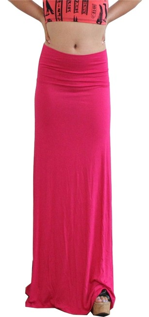 Other Maxi Skirt Fuchsia