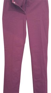 Forever 21 Straight Pants maroon