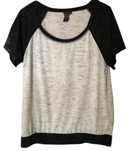 Torrid T Shirt White/Black