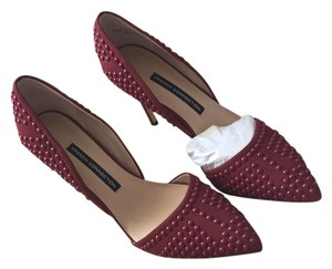 French Connection Burgundy Pumps