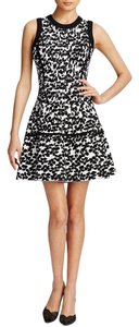 Kate Spade Fit & Flare Floral Black Dress