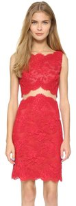 Reem Acra Lace Lace Designer Dress