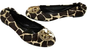 Tory Burch Miller Thora Ally Eddie Brown Flats