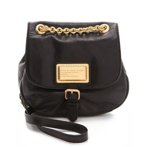Marc by Marc Jacobs Chain Gold Hardware Leather Cross Body Bag