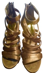 Michael Kors Metallic Gold Sandals