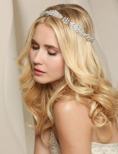 Bel Aire Bridal Headpiece Style #6500
