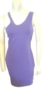 Victoria's Secret short dress Purple Bodycon Tank Mini on Tradesy