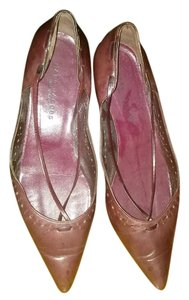 Marc Jacobs cranberry Flats