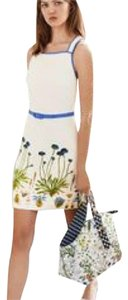 Tory Burch short dress Blue and white main colors on Tradesy