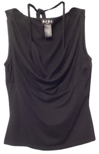 BCBG Paris Knit New Tag Small Top Black