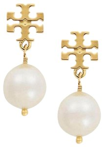 Tory Burch Tory burch Crystal Pearl Drop Earrings