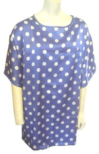 Victoria's Secret Silky Night Dress Pajamas Polka Dot Tunic