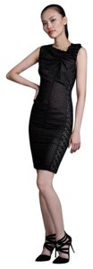 Byron Lars Beauty Mark Sheath Sheer Dress