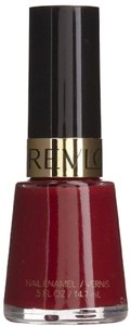 Other Revlon Nail Polish Lacquer Raven Red 721 Deep Burgundy Red Creme NEW