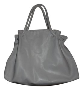Furla Italy Leather Tote in White