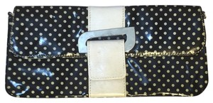 Roberta Black & White Clutch
