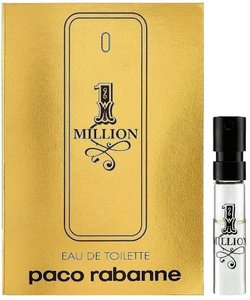 Paco Rabanne 1 Million Eau de Toilette EDT Fragrance Sample For Men