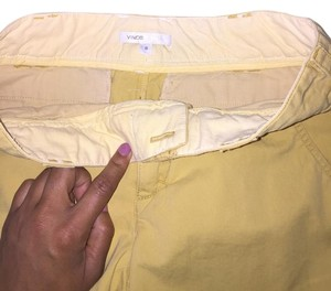 Vince Bermuda Shorts Yellow/muster
