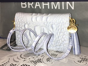 Brahmin All Leather Cross Body Bag