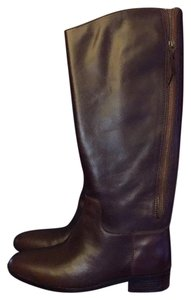 Cole Haan Riding Boot Leather Brown Boots