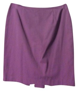 Ann Taylor Mini Skirt light purple