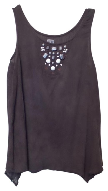 Preload https://img-static.tradesy.com/item/18535747/anthropologie-brown-light-and-airy-cotton-gauze-sleeveless-s-blouse-size-4-s-0-2-650-650.jpg