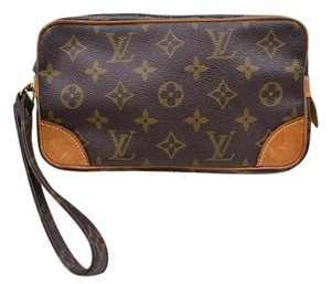 Louis Vuitton Marly Dragonne brown Clutch