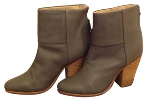 Rag & Bone Leather Taupe / Grey Boots